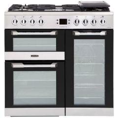 Leisure Cuisinemaster 90cm Dual Fuel Range Cooker, Stainless Steel - CS90F530X