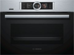 Bosch CSG656BS7B Built-in Compact Oven With Steam
