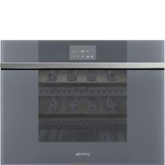 Smeg Linea CVI118RWS2 Silver Integrated Wine Cooler