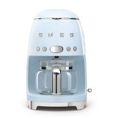Smeg DCF02PBUK Pastel Blue Drip Filter Coffee Machine