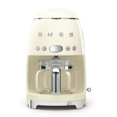 Smeg DCF02CRUK Cream Retro Drip Filter Coffee Machine
