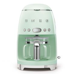 Smeg DCF02PGUK Pastel Green Drip Filter Coffee Machine