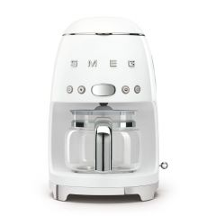 Smeg DCF02WHUK White Drip Filter Coffee Machine