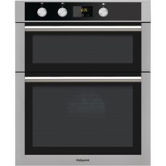 Hotpoint DD4544JIX Built In Double Oven, Stainless Steel
