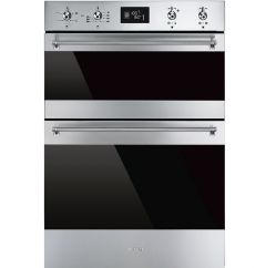 Smeg Classic DOSF6390X Electric Built-in Double Oven