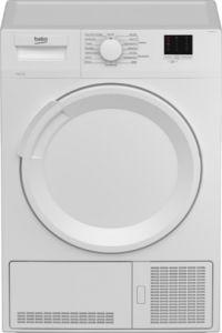Beko DTLCE80041W White Condenser Tumble Dryer