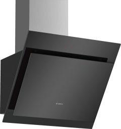 Bosch Serie 4 DWK67CM60B Black Angled Chimney Cooker Hood