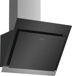 Bosch DWK67HM60B Black 60cm Angled Cooker Hood