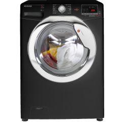 Hoover DXOC58C3B Gloss Black Washing Machine