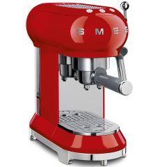 Smeg ECF01RDUK Red Espresso Coffee Machine