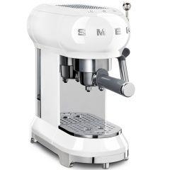 Smeg ECF01WHUK Espresso Coffee Machine In White