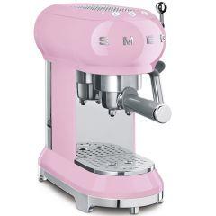 Smeg ECF01PKUK Espresso Coffee Machine In Pink