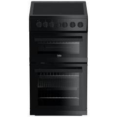 Beko EDVC503B Black 50cm Electric Cooker