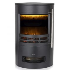 Warmlite WL46022 Elmswell Round Flame Effect Stove Fire