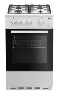 Beko ESG50W 50cm Single Oven Gas Cooker, White