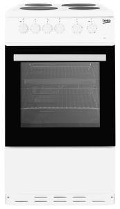 Beko ESP50W 50cm Electric Cooker, White