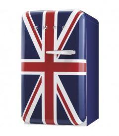 Smeg FAB10LUJ 50's Style Retro Fridge, Union Jack