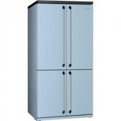 Smeg FQ960PB Blue American Style 4 Door Fridge Freezer