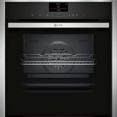 Neff N90 B47FS34H0B Built-in Oven With FullSteam