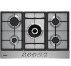 Blomberg GMB83512 Stainless Steel 75cm Gas Hob