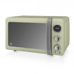 Swan SM22030GN Green Retro Style Microwave
