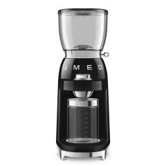 Smeg CGF01BLUK Black Retro Coffee Grinder