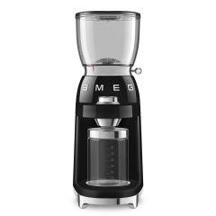 Smeg CGF01BLUK Black Retro Coffee Grinder