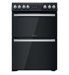 Hotpoint HDT67V9H2CB Black 60cm Electric Cooker