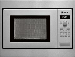 Neff H53W50N3GB Built-in Stainless Steel Microwave