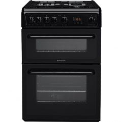 Hotpoint HAG60K Black 60cm Gas Cooker