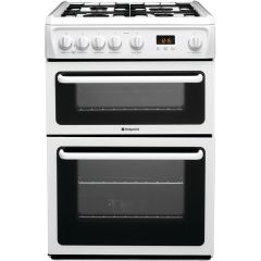 Hotpoint HAG60P White 60cm Gas Cooker