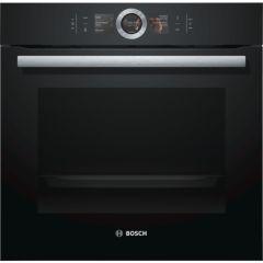 Bosch HBG6764B6B Black Serie 8 Built In Single Oven
