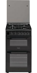 Hotpoint HD5G00CCBK Black 50cm Gas Cooker