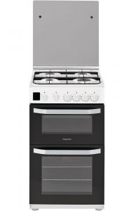 Hotpoint HD5G00CCW White 50cm Gas Cooker