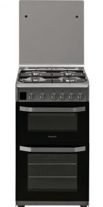 Hotpoint HD5G00CCX Stainless Steel 50cm Gas Cooker
