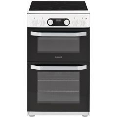 Hotpoint HD5V93CCW White 50cm Electric Cooker