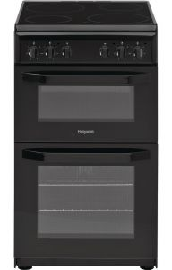Hotpoint HD5V92KCB Black 50cm Electric Cooker