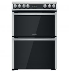 Hotpoint HDT67V9H2CX 60cm Electric Cooker In Stainless Steel