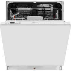 Hotpoint HIC3C26WF Silver Integrated Dishwasher