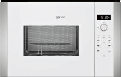 Neff HLAWD53W0B White Built-in Microwave
