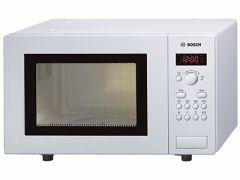 Bosch HMT75M421B White 17 Litre Solo Microwave