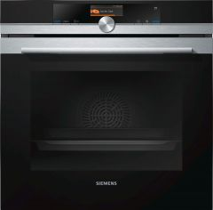 Siemens HR676GBS6B Built-in Single Oven With Added Steam