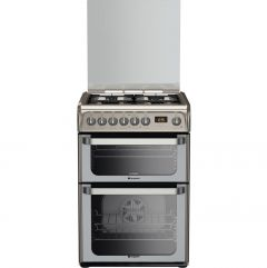 Hotpoint HUD61XS 60cm Dual Fuel Cooker