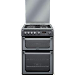 Hotpoint HUG61G Graphite 60cm Gas Cooker