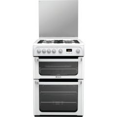 Hotpoint HUG61P Ultima 60cm White Gas Cooker