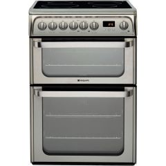 Hotpoint HUI611X Stainless Steel Cooker With Induction Hob