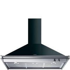 Smeg KD100NE Opera 100cm Black Chimney Hood