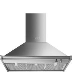 Smeg KD90HXE Opera 90cm Stainless Steel Chimney Hood
