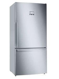 Bosch KGB86AIFP Freestanding Fridge Freezer In Silver