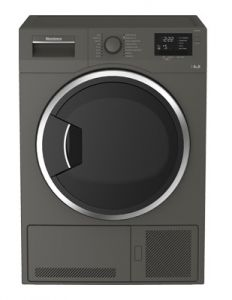 Blomberg LTK28031G Condenser Tumble Dryer In Graphite